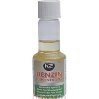 K2 BENZIN 50 ml - aditivum do paliva (obnovuje výkon motoru, snižuje emisní hodnoty)