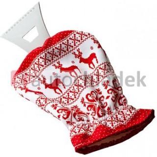 SHERON Škrabka s rukavicí norský vzor
