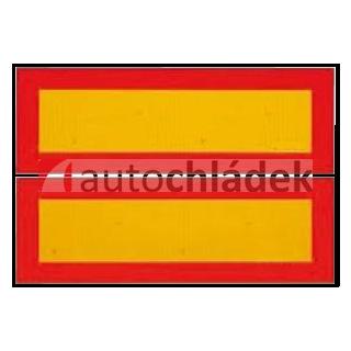 Tabule reflexní návěs 565x196 mm - pár